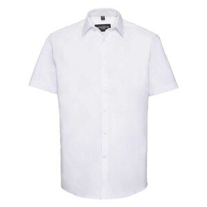 Russell Collection R963M - Herringbone S/S Mens Shirt
