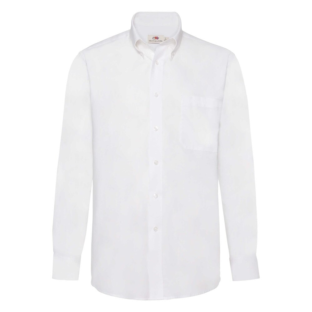 Fruit Of The Loom F65114 - Mens L/S Oxford Shirt
