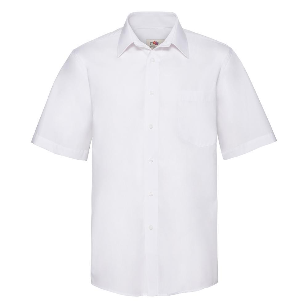 Fruit Of The Loom F65116 - Mens S/S Poplin Shirt