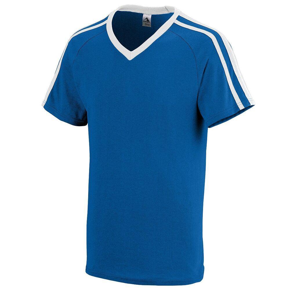Augusta Sportswear 364 - Youth Get Rowdy Shoulder Stripe Tee