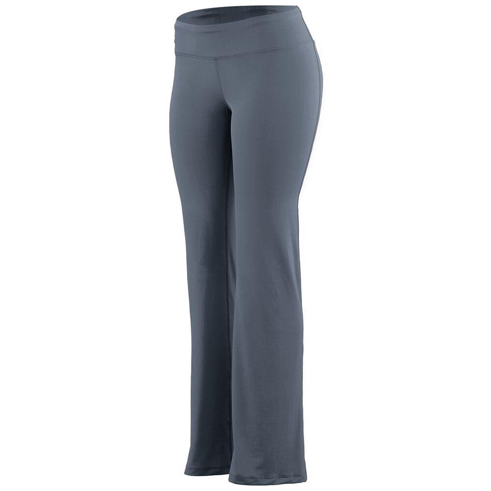 Augusta Sportswear 4814 - Ladies Wide Waist Brushed Back Poly/Spandex Pant