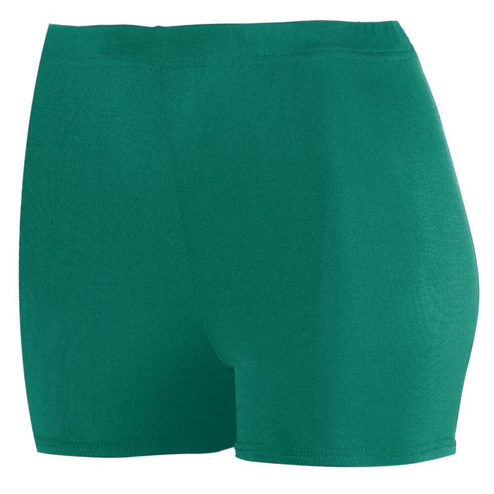 "Augusta Sportswear 1210 - Ladies Poly/Spandex 2.5"" Shorts"