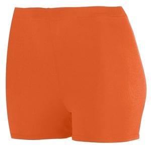 "Augusta Sportswear 1211 - Girls Poly/Spandex 2.5"" Shorts"