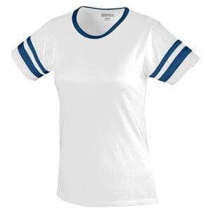 Augusta Sportswear 1275 - Ladies Junior Fit Cotton/Spandex Camp Tee