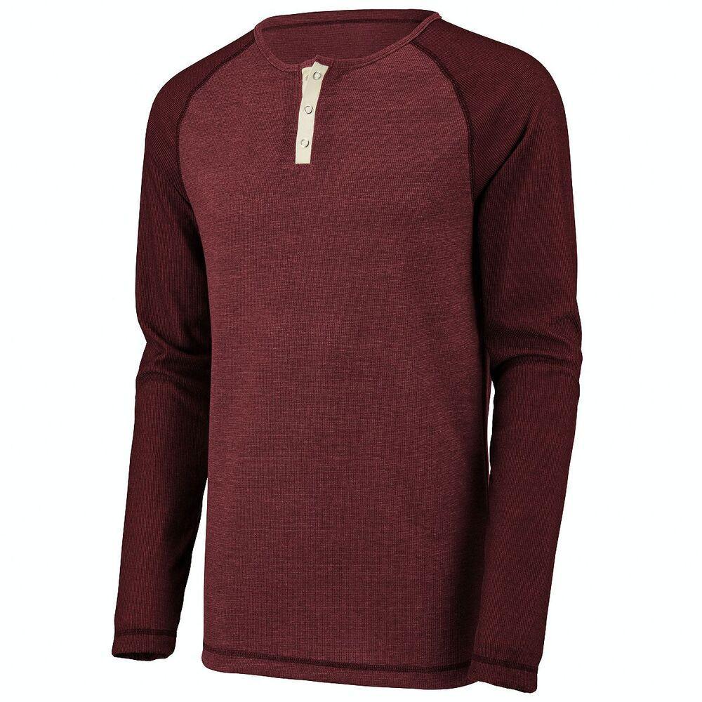 Augusta Sportswear 2150 - Linear Fusion Long Sleeve Henley