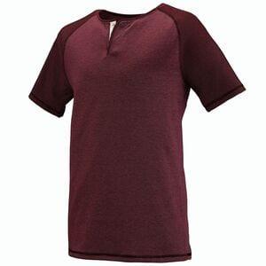Augusta Sportswear 2152 - Linear Fusion Short Sleeve Henley