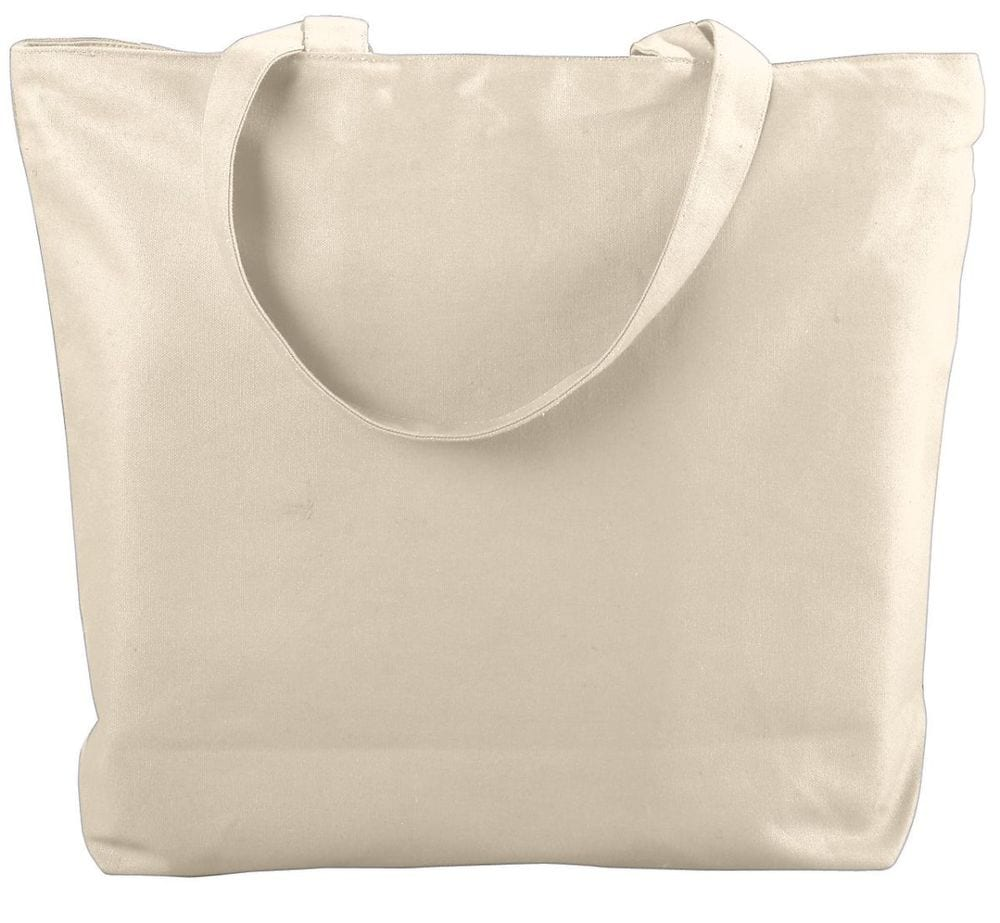 Augusta Sportswear 611 - Canvas Zipper Tote