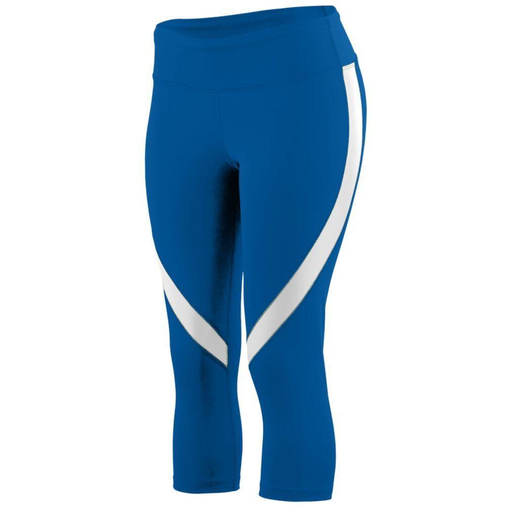 Augusta Sportswear 2405 - Ladies Action Color Block Capri