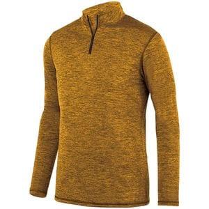Augusta Sportswear 2956 - Youth Intensify Black Heather 1/4 Zip Pullover