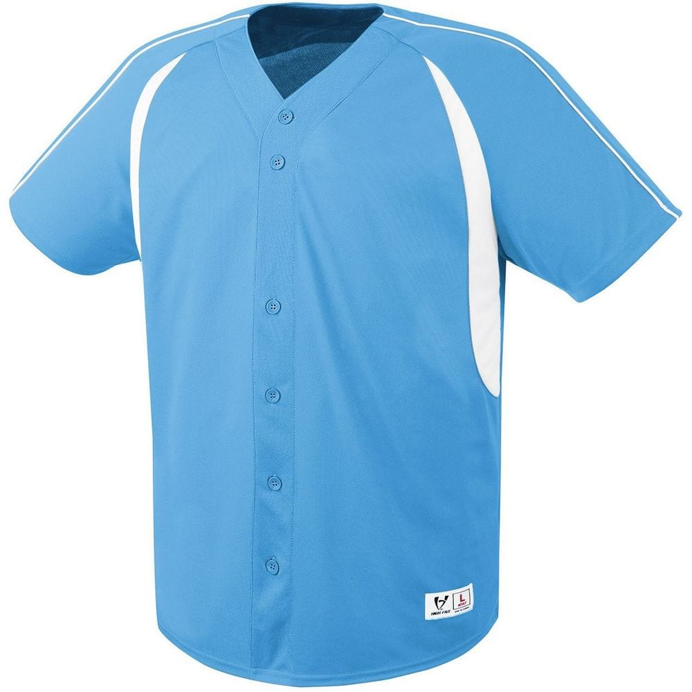 HighFive 312081 - Youth Impact Full Button Jersey