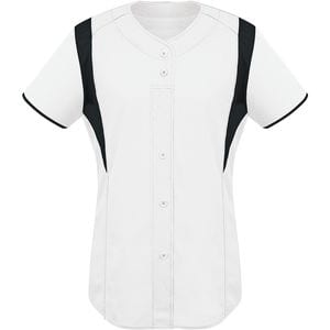 HighFive 312142 - Ladies Faux Front Jersey
