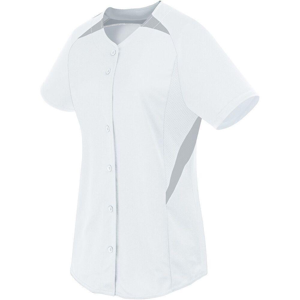 HighFive 312172 - Ladies Galaxy Full Button Jersey