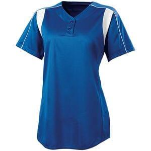 HighFive 312193 - Girls Double Play Softball Jersey