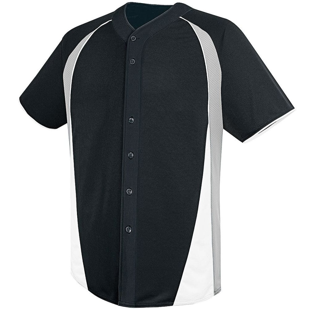HighFive 312220 - Adult Ace Full Button Jersey