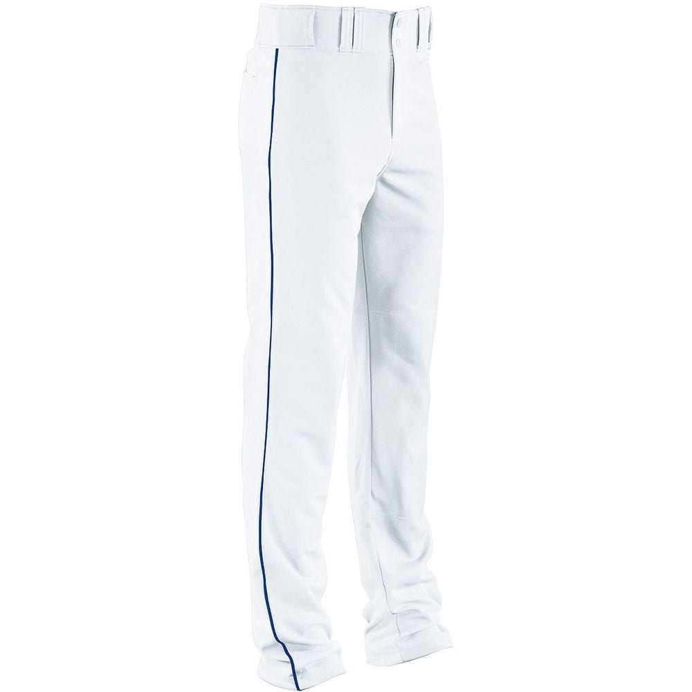 HighFive 315080 - Adult Piped Double Knit Baseball Pant