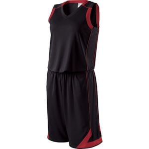 Holloway 224363 - Ladies Carthage Basketball Shorts