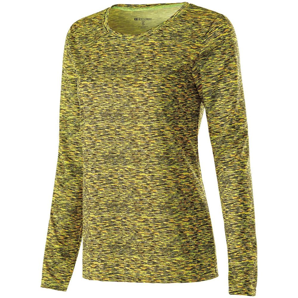 Holloway 229365 - Ladies Space Dye Shirt Long Sleeve