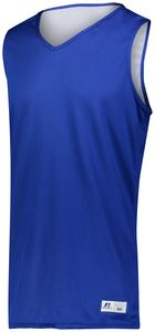 Russell 5R9DLM - Undivided Solid Single Ply Reversible Jersey