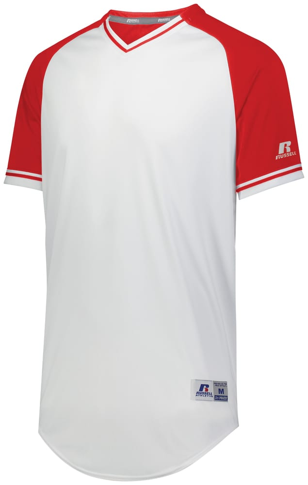 Russell R01X3M - Classic V Neck Jersey