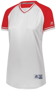 Russell R01X3X - Ladies Classic V Neck Jersey