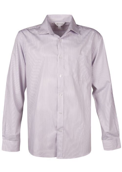 Aussie Pacific 1900L -  Henley Striped Long Sleeve Shirt