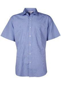 Aussie Pacific 1901S -  Toorak Check Short Sleeve Shirt