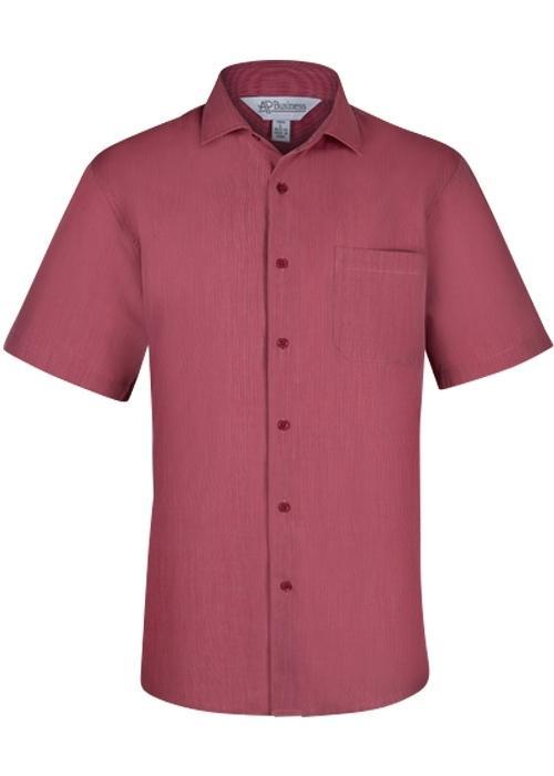 Aussie Pacific 1905S -  Belair MiTong Stripe Short Sleeve Shirt