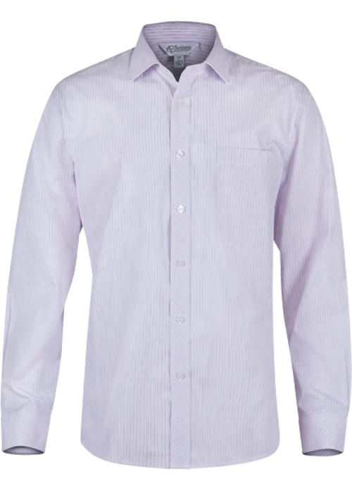 Aussie Pacific 1906L -  Bayview Wide Stripe Long Sleeve Shirt