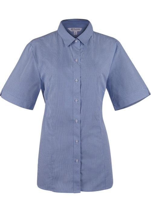 Aussie Pacific 2901S -  Toorak Check Short Sleeve Shirt