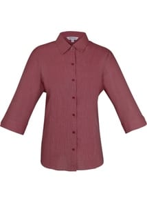 Aussie Pacific 2905T -  Belair MiTong Stripe 34/ Sleeve Shirt