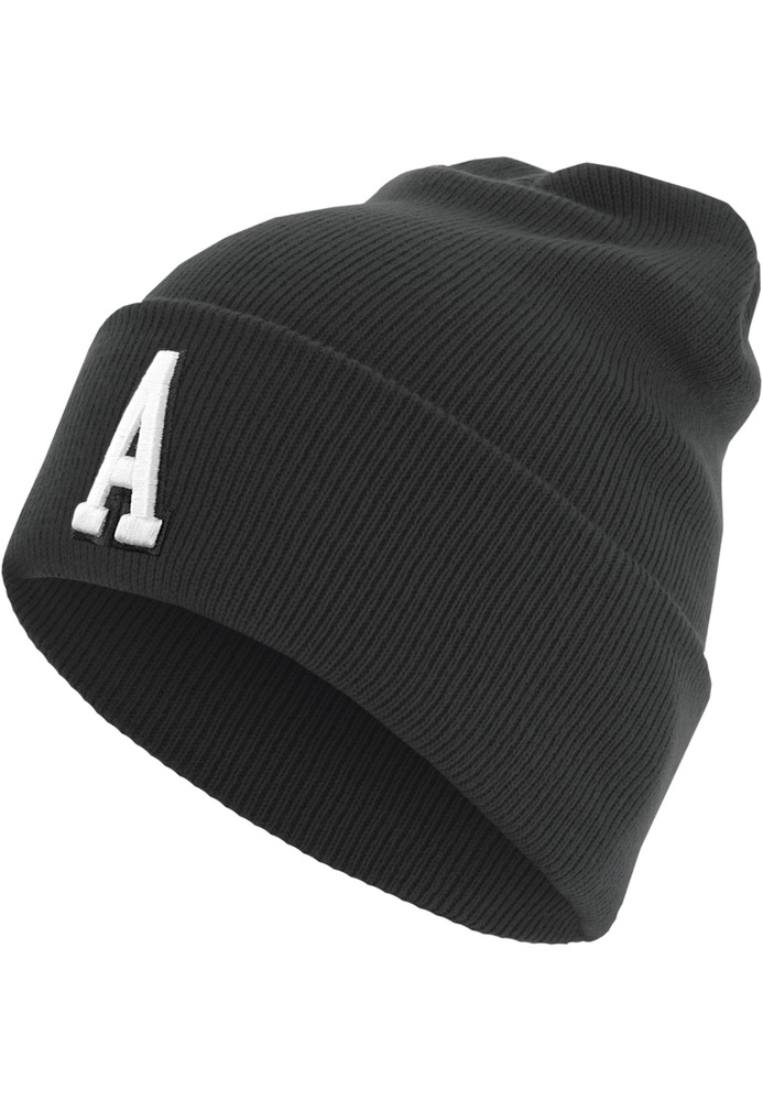 MSTRDS 10582C - Letter Cuff Knit Beanie