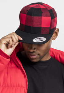 Flexfit 6089RCC - Checked Flanell Snapback