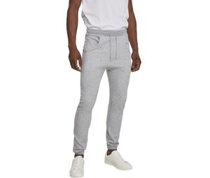 Build Your Brand BY013C - Pantalon de jogging entrejambe large