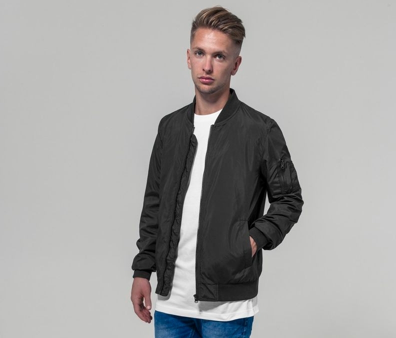 Build Your Brand BY045C - Bomber jacket man