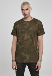 Build Your Brand BY079C - Camo Tee