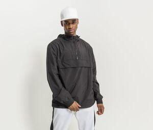 Build Your Brand BY096C - 1/4 zip jacket man