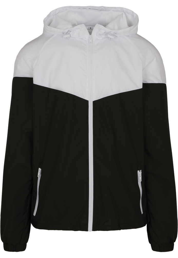 Build Your Brand BY129C - 2-Tone Tech Windrunner