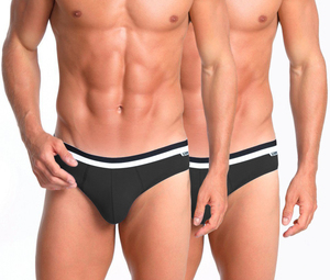 DIM D05H1C - Pack of 2 Briefs DIM BASIC