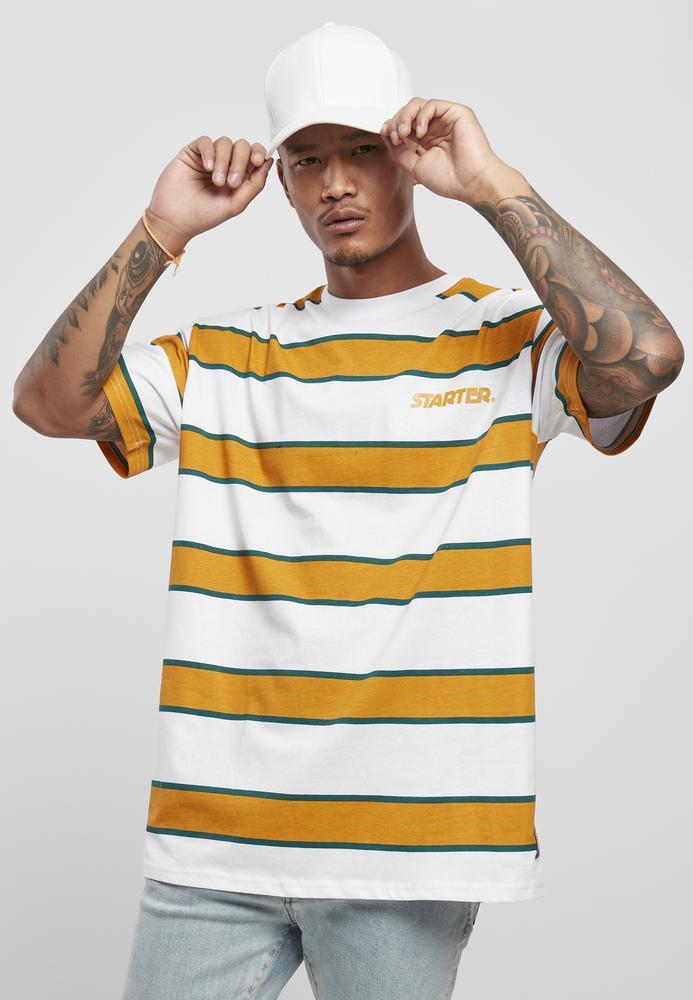 Starter Black Label ST027C - Starter Logo Striped T-shirt