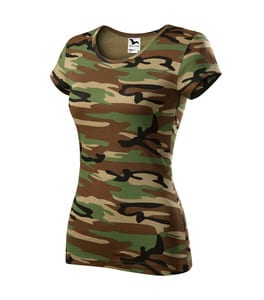 Malfini CX2 - Camo Pure T-shirt Damen