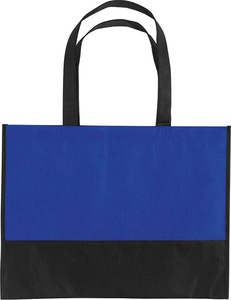 UBAG Tel aviv - Two-tone shopping bag gusseted