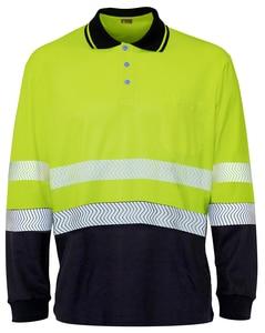 Seana 71505 - Poloshirt dois tons premium hi-vis l / s