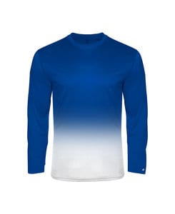 Badger BG4204 - Adult Ombre Long Sleeve Tee