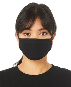 BELLA+CANVAS BTT044S - 2-Ply Reusable Face Mask S/M