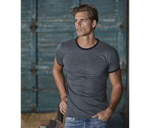 TEE JAYS TJ5070 - T-shirt bords côtes contrastés