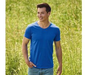 FRUIT OF THE LOOM SC154 - T-shirt homme col V