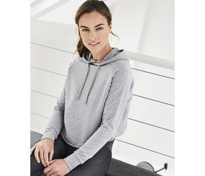 JUST COOL JC054 - Sweat femme dos croisé