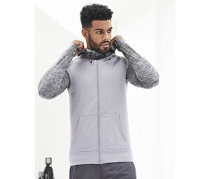 JUST COOL JC057 - Sweat homme contrasté