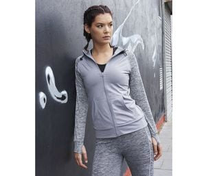 JUST COOL JC058 - Sweat femme contrasté
