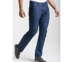 RICA LEWIS RL701 - Mens Straight Fit Jeans Stone